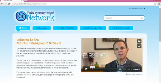 ACI Pain Management Network Website